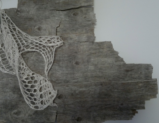 Lace on weathered ply